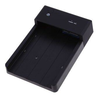 UJS 2.5 3.5 Inch SATA HDD Docking Station Enclosure USB 3.0 Interface (Black) - Intl