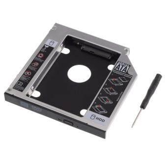 อุปกรณ์แปลงช่องใส่ซีดีเป็นช่องใส่Harddiskภายนอก ตัวที่สองSecond HDD CADDY SATA 12.7mmแบบหนาสำหรับโน๊ตบุ๊ค(Not Specified)