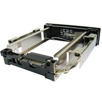 3.5 inch Serial II Hard Driver HDD-ROM Mobile Rack(Black)