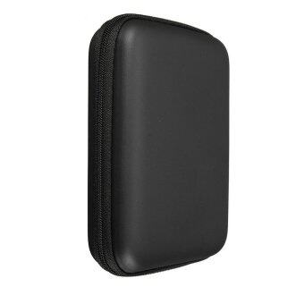 """2.5"""" HDD Hard Disk Pouch Shockproof Carry Cover Portable Hard Drive Bag Case (Black)"""