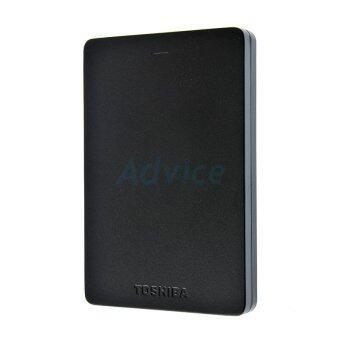 TOSHIBA Canvio Alumy 1TB USB 3.0 2.5 Inch External Hard Drive (ฺBlack) ของแท้