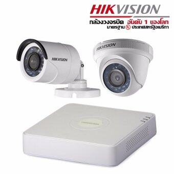 DS-2CE16C0T-IR Hikvision HDTVI 1MP X 1 3.6 mm DS-2CE56C0T-IR Hikvision HDTVI 1MP 3.6 mm X 1 Hikvision Turbo HD DVR DS-7104HGHI-F1 x 1