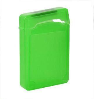 ooplm 3.5 Inch IDE SATA HDD Hard Drive Storage Box Protective Case,Green