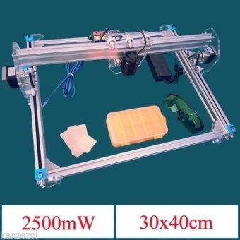 2500mW A3 30x40cm Desktop DIY Violet Laser Engraver Picture CNC Printer Assembly - intl