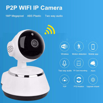 Hot Selling Wireless Home Security WiFi USB Baby Monitor Alarm IP Camera HD 720P Audio Infrarde HD Night Vision (image 4)