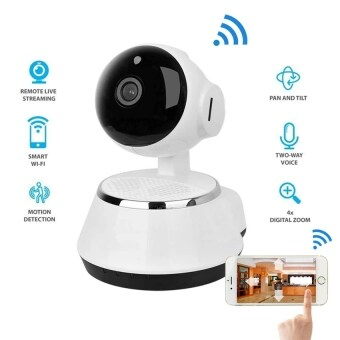 Hot Selling Wireless Home Security WiFi USB Baby Monitor Alarm IP Camera HD 720P Audio Infrarde HD Night Vision