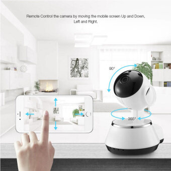 Hot Selling Wireless Home Security WiFi USB Baby Monitor Alarm IP Camera HD 720P Audio Infrarde HD Night Vision (image 1)