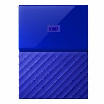 WD HDD - Hard Disk External _2.0 TB MY PASSPORT 2017 BLUE (WDBYFT0020BBL)
