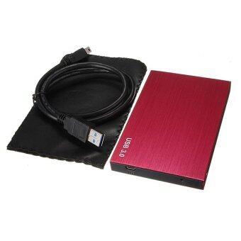 SATA USB 3.0/2.0 SATA 2.5'' HD HDD Hard Disk Drive Enclosure External Case Box Red - Intl