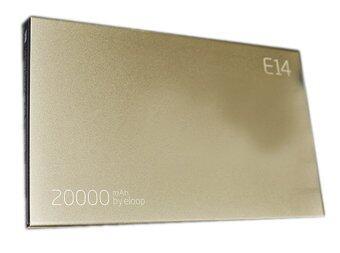 Eloop Power Bank 20,000 mAh รุ่น E14 - Gold