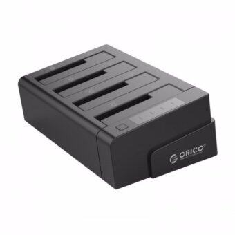 ORICO 2.5 & 3.5 inch SATA2.0 USB3.0 1 to 3 Clone External Hard Drive Dock - Black (6648US3-C)