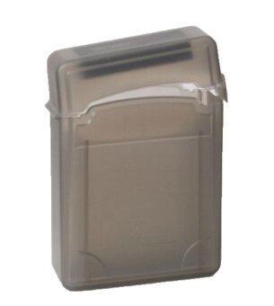 jingot 2.5 Inch IDE SATA HDD Hard Drive Storage Box Protective Case,Coffee