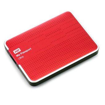 "WD My Passport Ultra 2.5"" Portable Hard Drive 2TB - Red"