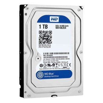 """WD Storage Desktop Hard Drives 1TB SATA III 7200RPM 64MB 3.5"""" - Caviar Blue (WD10EZEX)"""