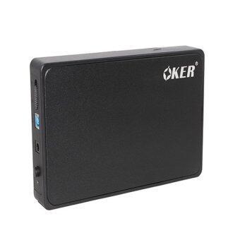 "OKER USB 3.0 SATA External Hard Drive Enclosure 3.5"" รุ่น ST- 3565 (Black)"
