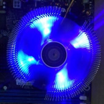 สงบเย็นพัดลมซีพียูฮีทซิงค์สำหรับ Intel LGA775 LGA 1155/1156/1366 AMD754/AM2 2+/AM3