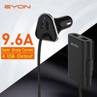 EYON car charger BLACK ที่ชาร์จในรถ หัวชาร์จในรถ สายชาร์จ usb charger มาพร้อมสายชาร์จ R28P