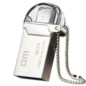 DM PD008 32GB OTG Usb Flash Drive Micro USB 2.0 Pendrive for Smartphone - Intl