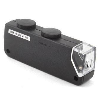 BUYINCOINS Mini LED 60X-100X Magnifier