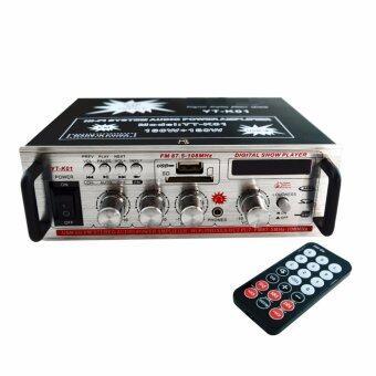 เครื่องขยายเสียง Stereo USB TFcard Audio Power