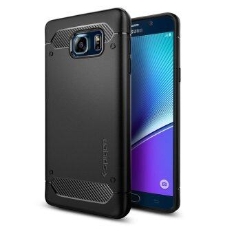 SPIGEN เคส Galaxy Note 5 Case Rugged Armor (Black)