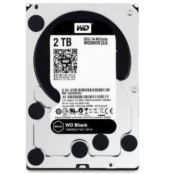 WESTERN HDD Internal 2.0 TB 7200RPM WD2003FZEX (BLACK)