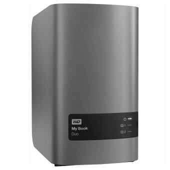 Western Digital My Book Duo 12TB (WDBLWE0120JCH) USB 3.0 External Hard Drive