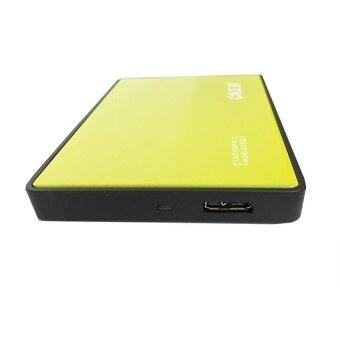 "OKER Box HDD OKER 2.5-inch"" USB 3.0 HDD External Enclosure รุ่น ST-2532 (Yellow)"