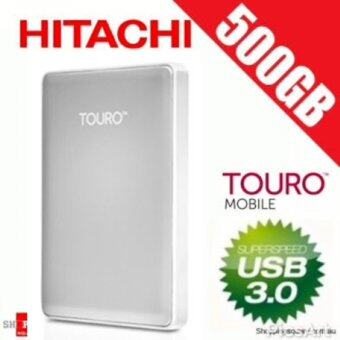 "Hitachi Touro S Mobile MX3 500 GB 7200RPM USB 3.0 Portable Hard Drive 2.5"" External HDD, USB Powered"