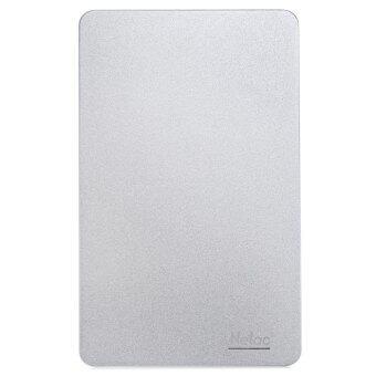 Netac K330 USB 3.0 External HDD HD Disc Storage Devices External Metal Material Disk Drive (WHITE)