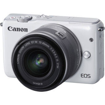 Canon EOS M10 Kit (EF-M15-45mm)(White) x Rilakkuma Special Edition + SD 8 GB(ประกันศุนย์) (image 1)