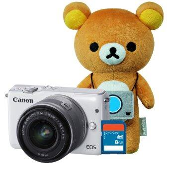 Canon EOS M10 Kit (EF-M15-45mm)(White) x Rilakkuma Special Edition + SD 8 GB(ประกันศุนย์)