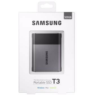 Samsung 500GB T3 Portable SSD with USB3.0 and OTG
