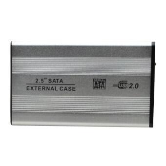 Fang Fang USB SATA 2.5inch HD/HDD Hard Disk Drive Enclosure External Case (Silver)