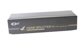 CKL HD94 4 Port HDMI Splitter support up to Full HD 1080P (Black)