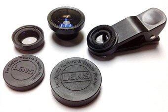 Universal Clip Lens 3in1 เลนส์มือถือ, Smartphone,Tablet - สีดำ