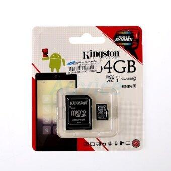 Kingston เมมโมรี่การ์ด Micro SD (SDC10G2, Class 10) 64GB ของแท้