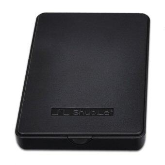 1TB USB 6.35ซม SATA ดิสก์ฮาร์ดดิสก์ไดร์ฟฮาร์ดดิสก์ภายนอกรั้วป้องกันกล่องเคส (สีดำ)-ระหว่างประเทศ