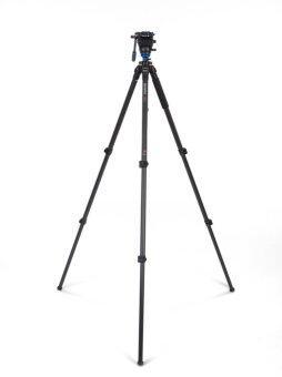 Benro ขาตั้งกล้อง วิดีโอ Magnesium-Carbon