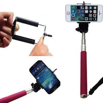 Monopod Selfie Z07-1 สีชมพู