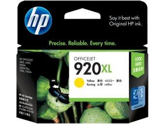 HP Ink CD974AA 920XL Yellow Officejet Ink Cartridge (Yellow)