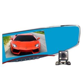 Anytekกล้องติดรถยนต์ รุ่นT2กล้องหน้า-หลังWDRแถมฟรี เม็มโมรี่การ์ด16GB ราคา