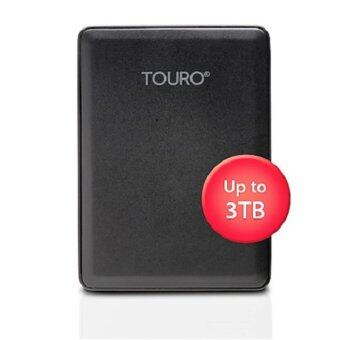 HGST Touro Mobile USB 3.0 3TB Black Real