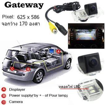 Gateway กล้องถอยตรงรุ่น Nissan Almera