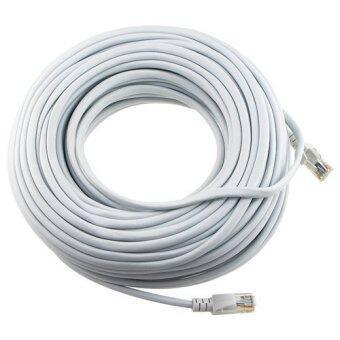 200ft 65m White 200' Ft Rj45 Cat5 Cat5e Ethernet Lan Network Internet Computer Patch Cable - intl