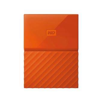 WD HDD - HARD DISK EXTERNAL 2.5 2TB MY PASSPORT 2017 ORANGE (WDBYFT0020BOR)