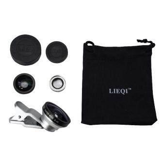 Lomo Clip Lens เลนส์เสริมมือถือ Super 3in1 รุ่น LM-003 - สีเงิน