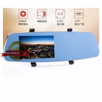 Rearview mirror car recorder