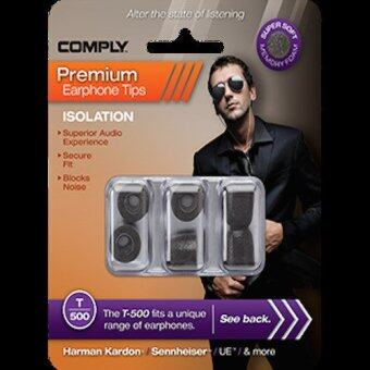 Complyfoam in ear memory foam tips รุ่น T400 ISOLATION (3 pairs per pack)
