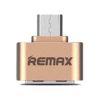 Remax RA-OTG USB OTG Adapter สำหรับ Samsung /Android สีทอง